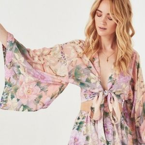 Spell and the Gypsy Collective Lily Kimono Crop